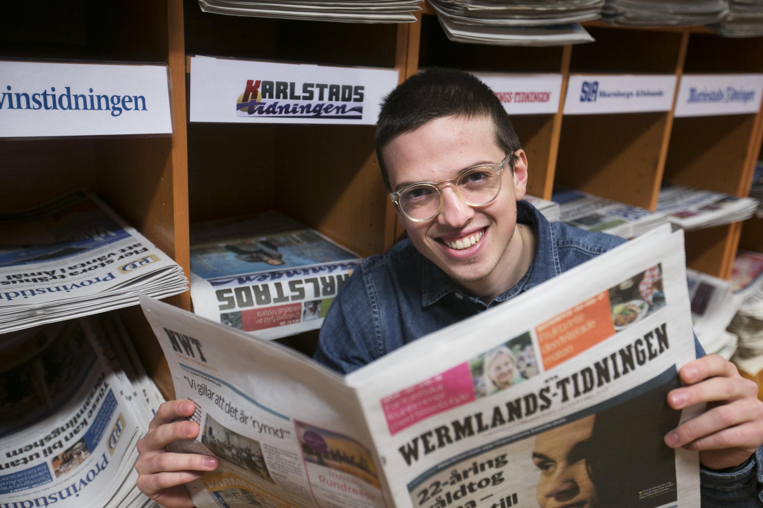 Viktors resa till att bli journalist