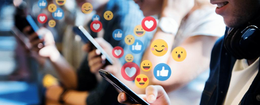 Exponeringen av barn på sociala medier